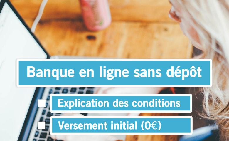 Conditions et versement initial (0€)